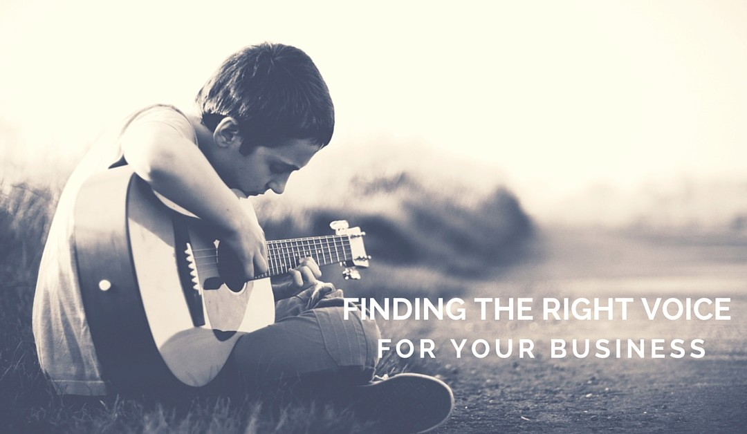 Finding the right voice for your business